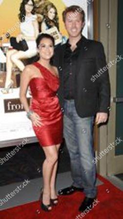 Stock Photo of Alexa Vega and Sean Covel