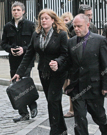 Stock Picture of Edward Woollard's mother Tania Garwood and and her husband Michael