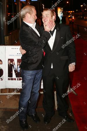Peter Mullan with Conor McCarron