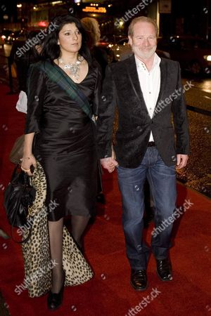 Stock Photo of Robina Qureshi and Peter Mullan