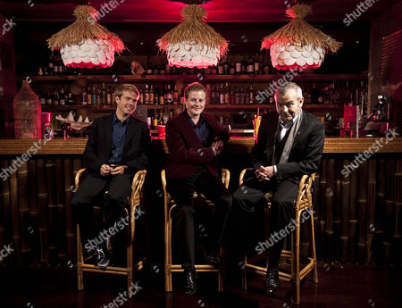 Stock Photo of Nick House, Guy Pelly and Piers Adam
