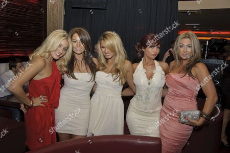 'The Only Way is Essex' launch - Candy Jacobs, Jessica Wright, Sam Faiers, Amy Childs and Lauren Goodger