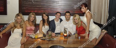'The Only Way is Essex' launch - Sam Faiers, Lauren Goodger, Jessica Wright, Kirk Norcross, Mark Wright, Candy Jacobs and Amy Childs.