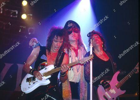 Bon Jovi - Richie Sambora, Jon Bon Jovi and Alec John Such