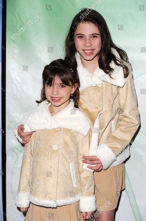 Stock Image of Savannah Paige Rae and Emily Evan Rae