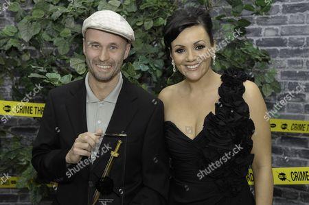 Stock Photo of Johan Theorin and Martine McCutcheon