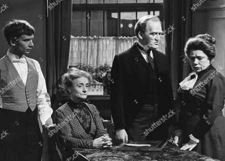 Christopher Beeny as Edward, Patsy Smart as Roberts, Gordon Jackson as Mr Hudson and Angela Baddeley as Mrs Bridges
