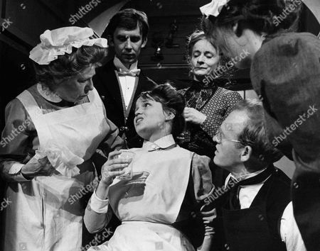 Angela Baddeley as Mrs Bridges, Christopher Beeny as Edward, Susan Penhaligon as Mary Stokes, Patsy Smart as Roberts, Gordon Jackson as Mr Hudson and Evin Crowley as Emily