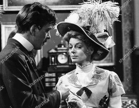 Stock Image of Donald Burton as Julius Karekin and Wendy Gifford as Margot Descort