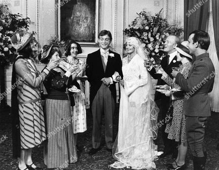 Jean Marsh as Rose, Angela Baddeley as Mrs Bridges, Jenny Tomasin as Ruby, Anthony Andrews as Lord Robert Stockbridge and Lesley Anne Down as Georgina, Gordon jackson as Mr Hudson, Jacqueline Tong as Daisy and Christopher Beeny as Edward