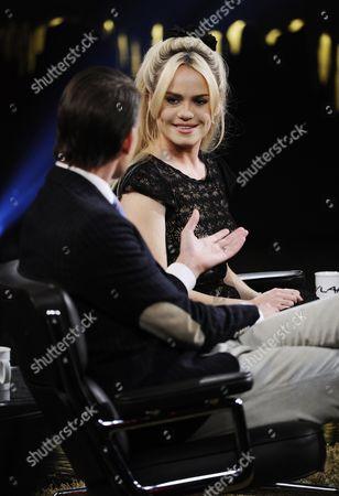 Editorial photo of 'Skavlan' Swedish TV Show, Stockholm, Sweden - 20 Jan 2011
