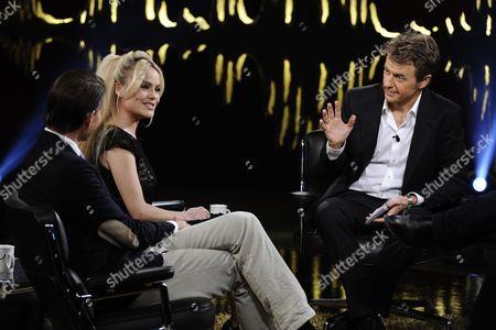 Editorial image of 'Skavlan' Swedish TV Show, Stockholm, Sweden - 20 Jan 2011