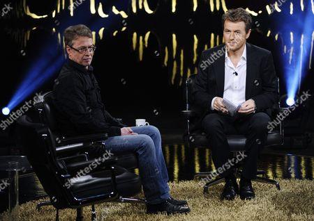 Fredrik Skavlan and Joakim Larsson