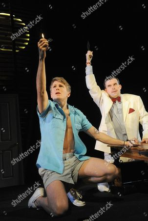 George Rainsford (Clark) and Nick Fletcher (Mr Palacios)