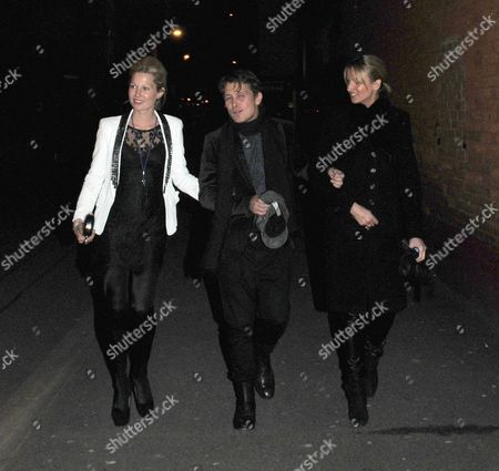 Emma Ferguson, Mark Owen and friend