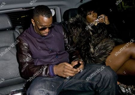 Sean Combs and Kalenna Harper