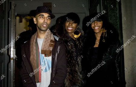 Stock Image of Guest with Dawn Richard and Kalenna Harper - Dirty Money