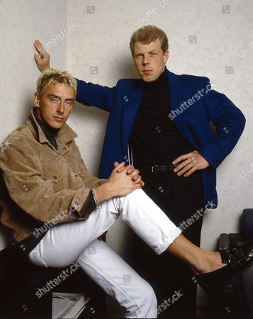 Stock Photo of Style Council - Paul Weller and Mick Talbot