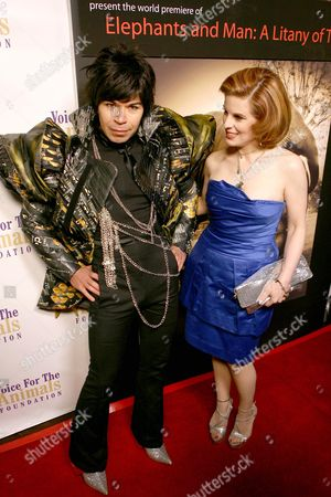 Stock Image of Merlin Castell and Kat Kramer