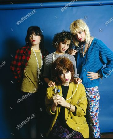 The Bangles - Debbi Peterson, Susanna Hoffs, Michael Steele and Vicki Peterson