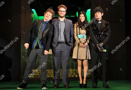 Editorial photo of 'The Green Hornet', Film Premiere, Tokyo, Japan - 20 Jan 2011