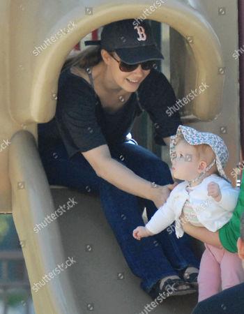 Amy Adams and daughter Aviana Olea Le Gallo