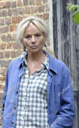 Stock Picture of Benedikte Hansen as Helga Nolan.