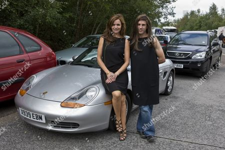 Car crash scene general behind the scenes filming camera crew - Stine Stengade