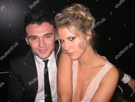 Lawrence Hannah with boyfriend Petrina Khashoggi