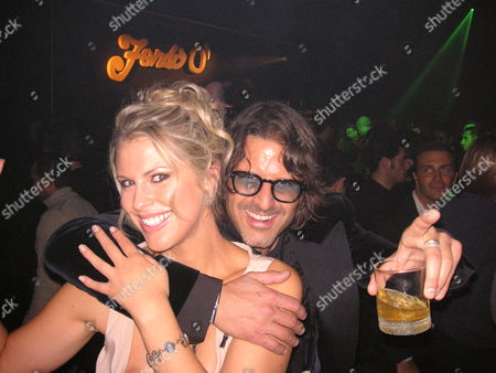 Stock Photo of Petrina Khashoggi and Stefano Cecchi