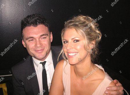 Stock Picture of Lawrence Hannah with boyfriend Petrina Khashoggi