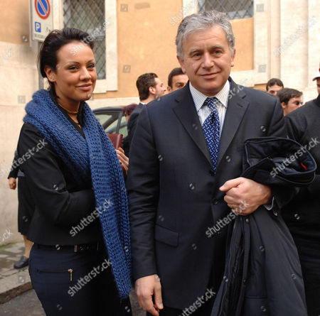 Editorial image of Graziana Capone and Roberto Gasparotti, Rome, Italy - 24 Feb 2010