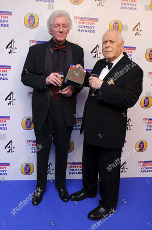 Roy Clarke and Clive Swift
