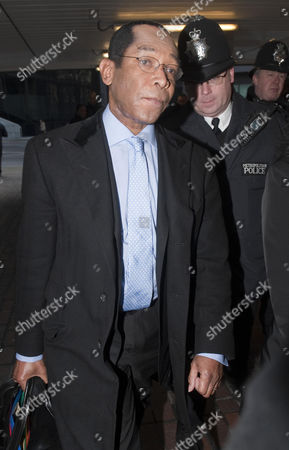 Lord Taylor of Warwick arriving at Southwark Crown Court