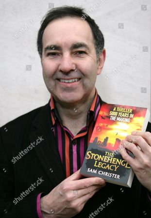 Editorial picture of Sam Christer 'The Stonehenge Legacy' book signing, Waterstones Salisbury, Wiltshire, Britain - 22 Jan 2011