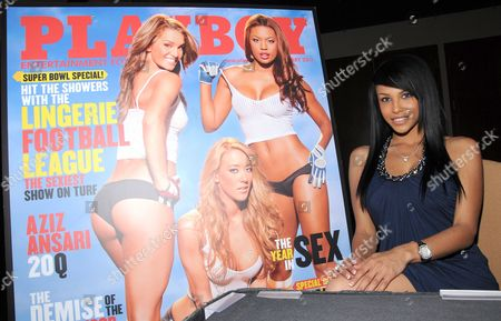 Editorial picture of Playboy Playmate Kylie Johnson autograph signing at Palms Resort, Las Vegas, America  - 21 Jan 2011