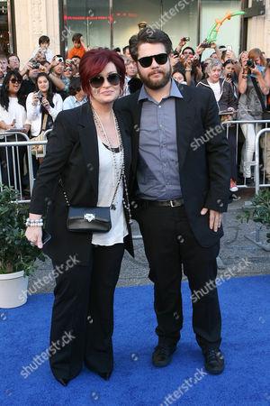 Sharon Osborne and Jack Osbourne