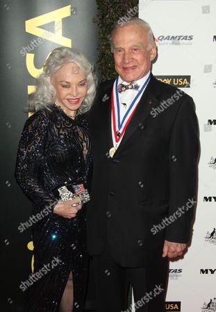Buzz Aldrin and Lois Aldrin