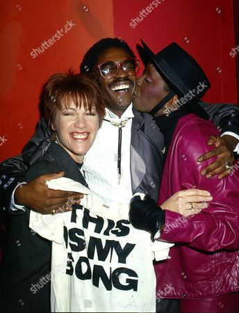 Kiki Dee with Junior Giscombe and Madeline Bell