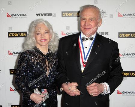 Lois Aldrin, Buzz Aldrin