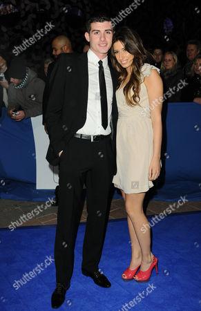 Aaron Barham and Stacey Solomon