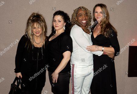 Stock Picture of Elizabeth Emanuel, Dee Dee Samuels, Rikki Beadle Blair, Lady Susanne Olivier