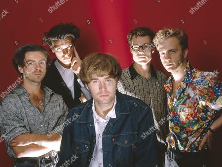 Editorial image of German pop band Jeremy Days, London, Britain - 1988