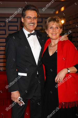 Dr. Dr Mario Theissen with wife Ulrike