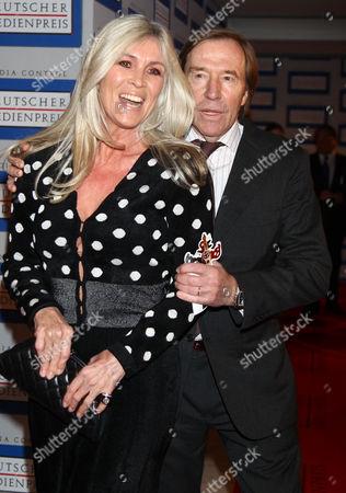 Gunter Netzer and wife Elvira