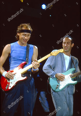 Stock Photo of Dire Straits - Mark Knopfler and Jack Sonni