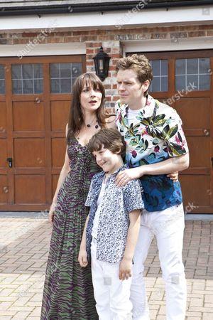 Anna Wilson Jones as Christina, Shaun Evans as David and Drew Blackall as Cameron