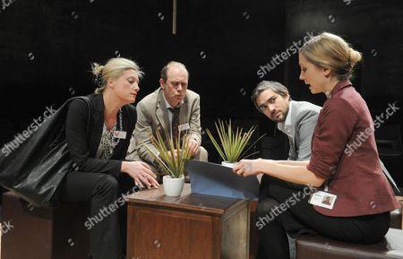 Susannah Harker (Lara), Andrew Woodall (Nick), Christopher Simpson (Pav), Joanne Foggatt (Polly)