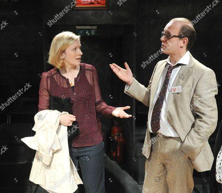 Claire Price (Rachel), Andrew Woodall (Nick)