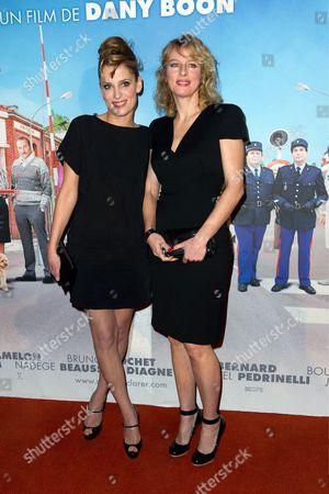 Karin Viard and Julie Bernard